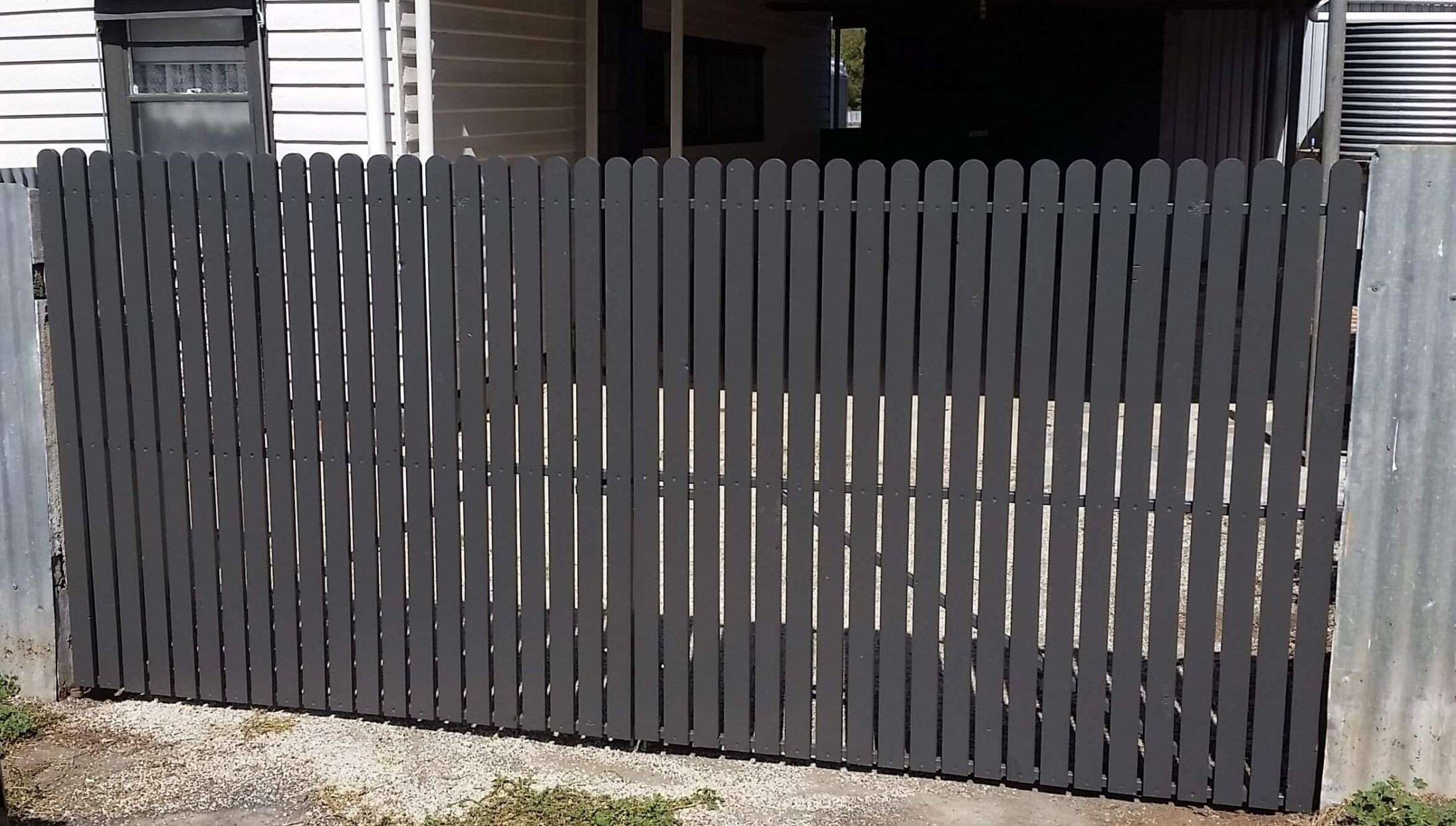 After Driveway Gate